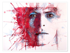 Paul Paul Lovering Arts - The Prettiest Star : David Bowie