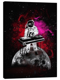 Tableau sur toile  alternative space astronaut dj art poster - 2ToastDesign