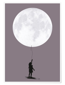 Poster Moonballoon