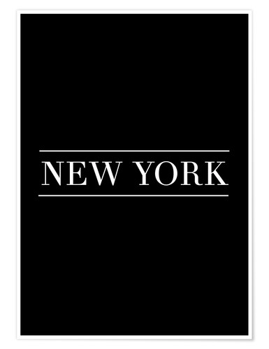 Poster New York - horizontal