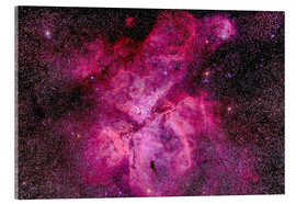 Verre acrylique  The Carina Nebula in the southern sky - Alan Dyer