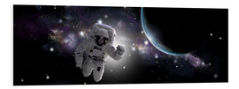 Forex  Astronaut floating in outer space - Marc Ward
