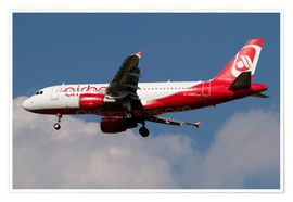 Poster Airbus A320 d'Air Berlin