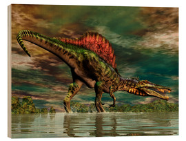 Bois  Spinosaurus from the Cretaceous period - Philip Brownlow