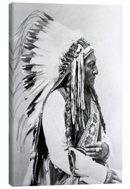 Toile  Chef Sioux Sitting Bull - John Parrot