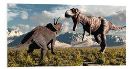 Forex  Tyrannosaurus Rex and Triceratops meet for a battle to the death. - Mark Stevenson