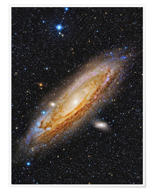Poster M31, Galaxie d'Andromède