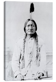 Tableau sur toile  Chef Sitting Bull