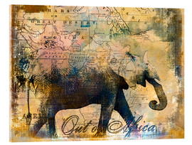 Verre acrylique  Out of Africa - Andrea Haase