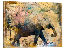 Toile  Out of Africa - Andrea Haase