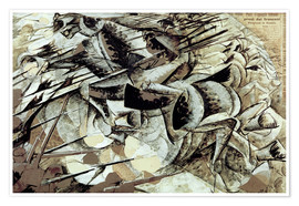 Poster The Charge of the Lancers