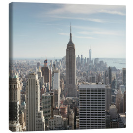 Tableau sur toile  Manhattan skyline with Empire State building, New York city, USA - Matteo Colombo