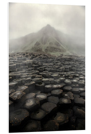 Tableau en PVC  Giant's Causeway at dawn - Jaroslaw Blaminsky