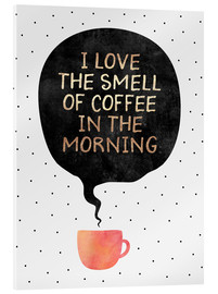 Elisabeth Fredriksson - I love the smell of coffee in the morning