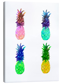 Tableau sur toile  Ananas - Rongrong DeVoe