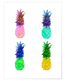 Poster  Ananas - Rongrong DeVoe