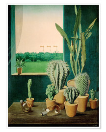 Poster  Cacti and semaphores - Georg Scholz