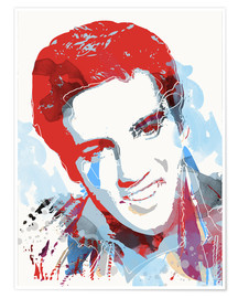 Poster  Elvis Presley pop art - 2ToastDesign