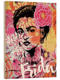 Bois  Frida Kahlo Pop Art - Nory Glory Prints