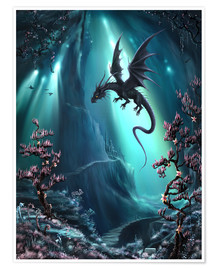 Poster  The Dragon Caves of La Stilla - Susann H.