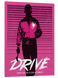 Golden Planet Prints - Drive et Ryan Gosling