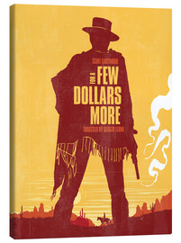 Tableau sur toile  For a few dollars more - Golden Planet Prints