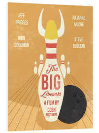 Tableau en PVC  The Big Lebowski (anglais) - Golden Planet Prints