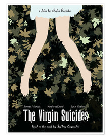 Poster  Virgin Suicides (anglais) - Golden Planet Prints
