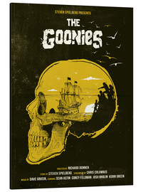 Alu-Dibond  The Goonies - Golden Planet Prints