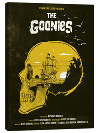 Tableau sur toile  The Goonies - Golden Planet Prints