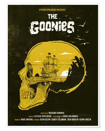 Poster  Les Goonies (anglais) - Golden Planet Prints