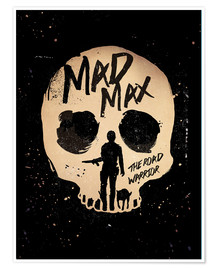 Golden Planet Prints - Mad Max the road warrior movie inspired art print