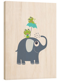 Bois  Frogs and elephant - Jaysanstudio