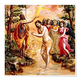 Poster Baptism of Christ
