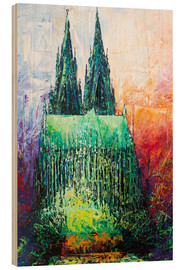 Bois  Cologne Cathedral Abstract - Renate Berghaus