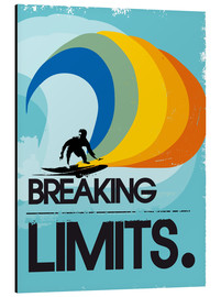 Alu-Dibond  Surfer, Breaking limits - 2ToastDesign