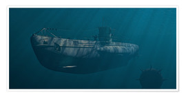 Poster  Submarine 1941 Behind Enemy Lines - Peter Weishaupt