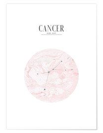 Poster  Cancer - Stephanie Wünsche