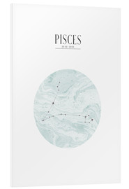 Tableau en PVC  PISCES | FISH - Stephanie Wünsche