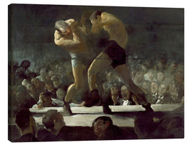 Tableau sur toile  Club Night - George Wesley Bellows