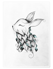 Poster  Poetic Rabbit - LouJah