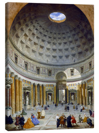Tableau sur toile  Interior of the Pantheon - Giovanni Paolo Pannini