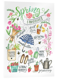 Verre acrylique  Spring Favourites - Lily & Val