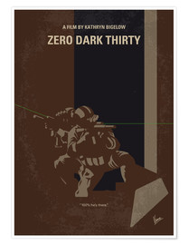 Poster Zero Dark Thirty (anglais)