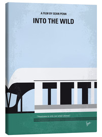 Toile  No677 My Into the Wild minimal movie poster - chungkong
