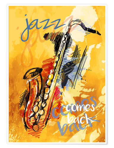 Poster Jazz comes back