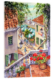 Verre acrylique  Harbour Steps - Paul Simmons