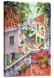 Toile  Harbour Steps - Paul Simmons