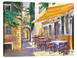 Toile  Cafe Provence - Paul Simmons