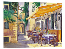 Tableau en PVC  Café en Provence - Paul Simmons